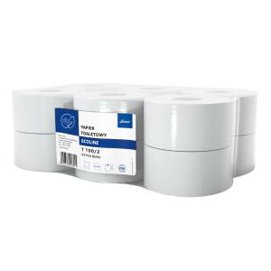 Papier toaletowy Ellis Ecoline 12 rolek T100/2