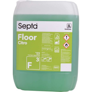 Środek do pielęgnacji posadzek FLOOR F3 FRESH CITRO SEPTA AGAPIT 10l