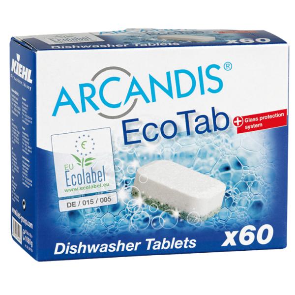 Tabletki do zmywarki bez fosforanów ARCANDIS ECO-TAB KIEHL 60 SZTUK