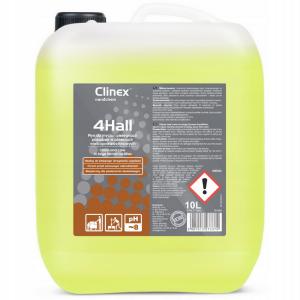 Płyn do mycia i pielęgnacji posadzek w obiektach wielkopowierzchniowych Clinex 4Hall 10l