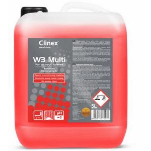 Płyn do mycia łazienek Clinex W3 Multi 5l