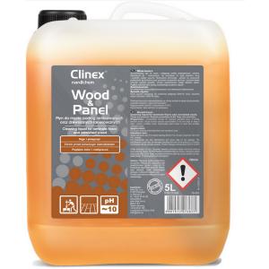 Płyn do mycia podłóg laminowanych oraz drewnianych lakierowanych Clinex Wood&Panel 5l