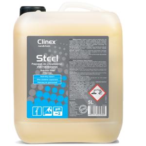 Preparat do czyszczenia stali nierdzewnej Clinex Steel 5l