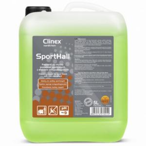 Preparat do mycia posadzek sportowych z efektem antypoślizgowym Clinex SportHall 5l