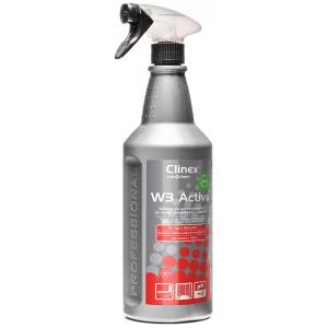 Preparat do mycia sanitariów i łazienek Clinex W3 Active Bio 1l