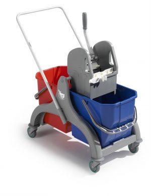 Wózek z wiadrami 2x15l TTS Nick