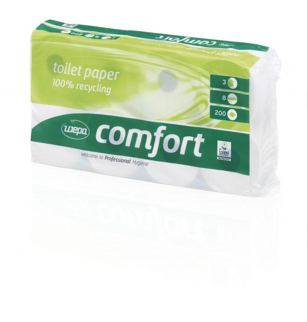Papier toaletowy Comfort 8 x 200 listków - 72 rolki